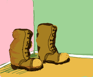 A delightful pair of boots.