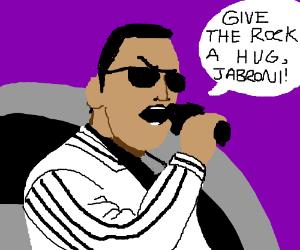 Rock is Wanting a Hug