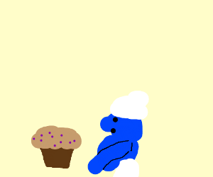 Muffin make smurf pregnant