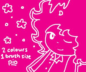 2 colors, 1 brush size, PIO