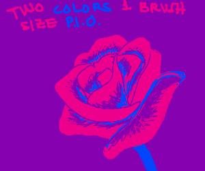 2 colors 1 brush size P.I.O