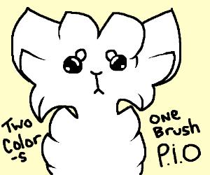 2 Colors 1 Brush P.I.O.