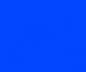 Draw blue without the word or color