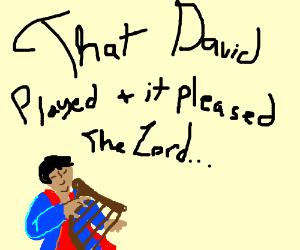 I heard there was a secret chord...