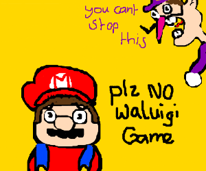 MarioDoesn'tWantThisToBeWaluigiGame (it will)