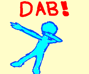 blue man dabing drawing by adrianthereaper drawception