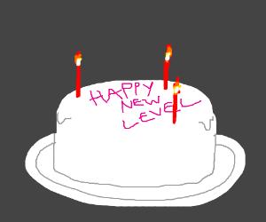 Birthday is level up