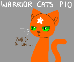Warrior cat pass it on