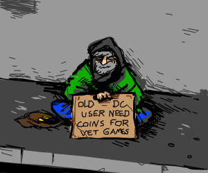 Back in my day, vet games were only 2 coins...