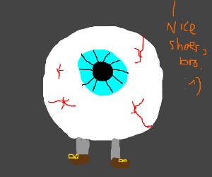 Eye With Legs