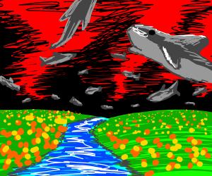 Welcome to the magical land of DOOOOOM SHARKS!