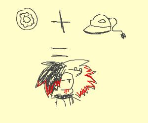 Donut + Iron = Emo Sonic