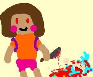 Dora quits exploring. Uses Google Maps instead - Drawception on