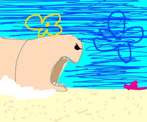 spongebob pet worm