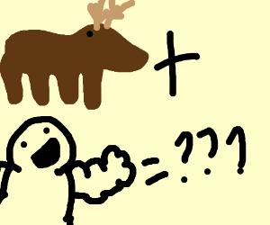 moose + baby = ???