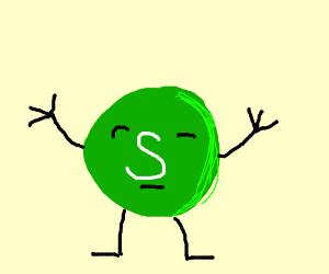 Sentient Green Skittle