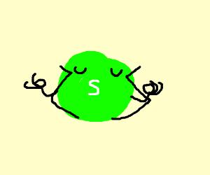 green skittle does yoga
