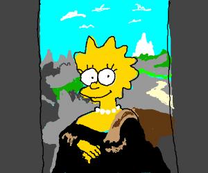 The Mona Lisa Simpson