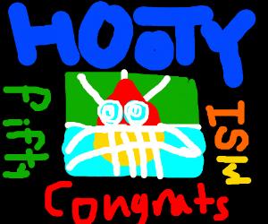 Hooty is level 50!!