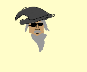 Gandalf with sunglasses