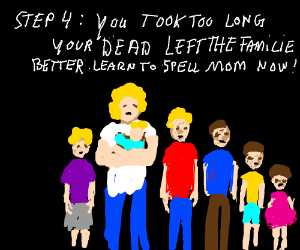 step 3: learn how to spell dead
