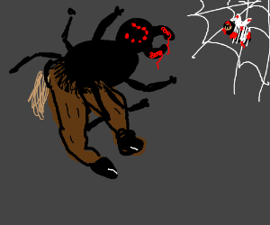 Spider Horse! Spider Horse! Does whatever a...