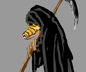 ALF is the Grim Reaper
