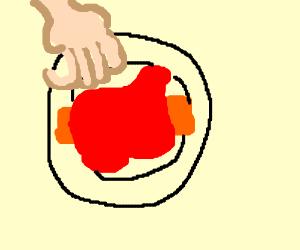 Knuckles the Enchilada - Drawception