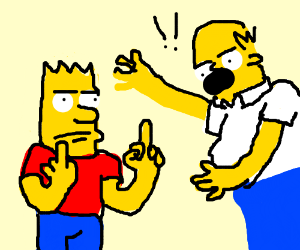 Fek u homer ( Bart)