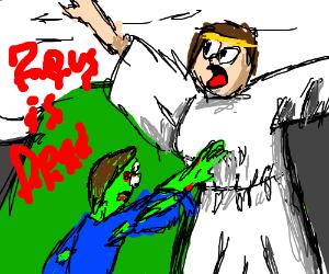 Zombies attack Hera, Zeus is gone
