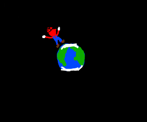 Mario Jumping in to the World