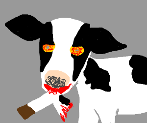 The night of the zombie cow.