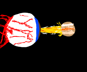 Terarria eyeball destroying Jupiter