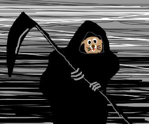 Grim Reaper? No! The GRIM PUPPER