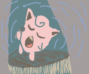 Jigglypuff sings