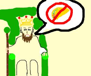 king is anti-taco