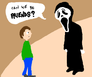ghost face wants friendship