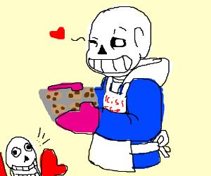 Sans Bakes cookies