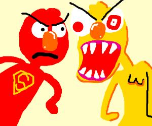 Super Elmo vs Yellmo, The Final Confrontation