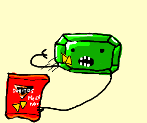 Peridot eating DORITOOOS!!! (mega pack)