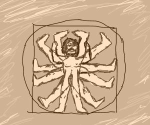 The Vitruvian LegDad