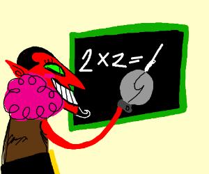 Devil doing math