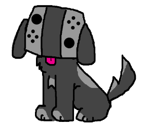 Nintendo Switch Doggo Drawception