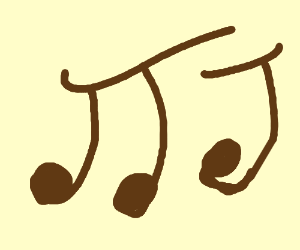 brown music notes smooth jazz