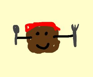 Meatball man