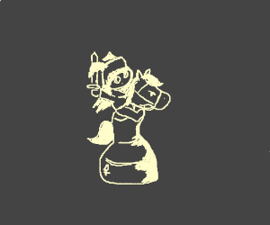 Female, Winged Chess Warrior
