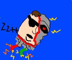 Cyberdyne systems model 101 lost his head