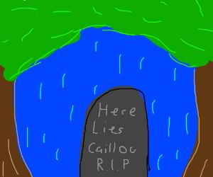 caillou's grave