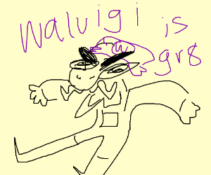 waluigi talking about how special he is