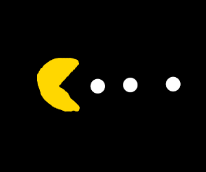 pacman eat white pearl
